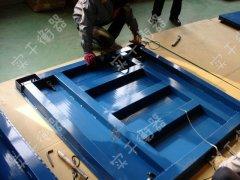 3吨防水地磅维修